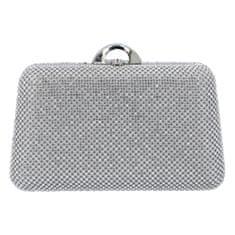 Michelle Moon Společenská dámská kabelka Elegant Firenze, stříbrná