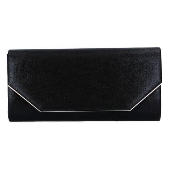 Delami Společenská dámská kabelka Elegant Prague, černá