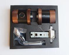Mave Pametna kljuka s prstnim odtisom, RFID čipom ali PIN kodo - SDC-911-F Rjava in Črna