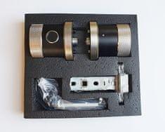 Mave Pametna kljuka s prstnim odtisom, RFID čipom ali PIN kodo - SDC-911-F Srebrna in Črna
