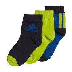 Adidas chlapecké ponožky LK ANKLE S 3PP