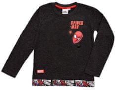 """Eplusm Chlapčenské tričko s dlhym rukávom """"Spider-man"""" - tmavo sivá"""