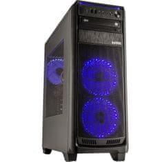 CORPA PC GAMER RYZEN 5 2600 3.9GHZ 6 jader 12 vláken 16GB 256GB + 1TB GTX 1660 Super W10 Blue