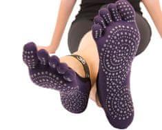 TOETOE Dámské YOGA & PILATES prstové ponožky na cvičení OM