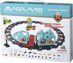 MAGPLAYER Magplayer magnetická stavebnice 77 ks