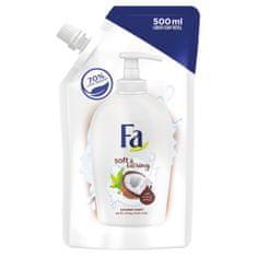 Fa Soft & Caring tekući sapun, Coconout Milk, 500 ml, punjenje