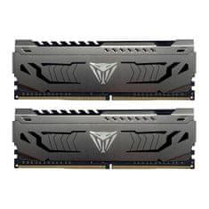 Patriot Viper Steel memorija (RAM), 16 GB (2x8GB) DDR4, 3600 MHz, CL18, 1,35 V, DIMM (PVS416G360C8K)