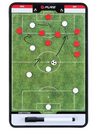 Pure2Improve trenerska ploča za nogomet