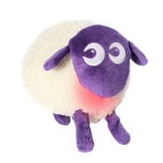 Ewan uspávací ovečka DELUXE 5 zvuků-fialová