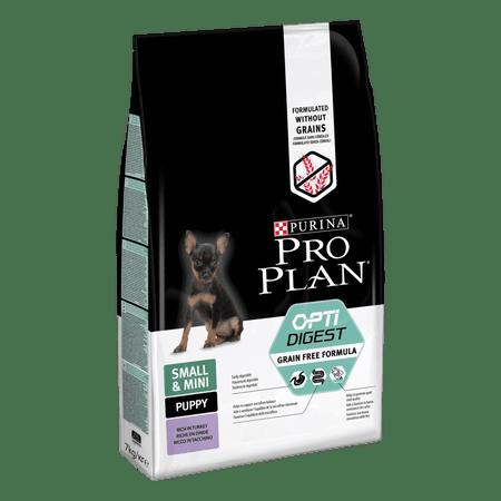 Purina Pro Plan Pro Plan Small & Mini Puppy Optidigest Grain Free krma s puranom, 7 kg