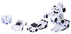 Wiky Autorobot RC, zložený z dvoch áut, 24 cm