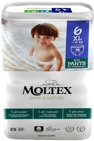 MOLTEX Bugyipelenka Moltex Pure & Nature XL +14 kg (18 db)