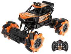 Wiky Auto terénne driftujúce RC 25 cm oranžové