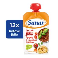Sunar příkrm špagety s boloňskou omáčkou 12x120g