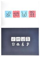 KPH Fotoalbum Baby book modré