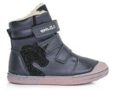D-D-step zimowe botki dziewczęce 049-975
