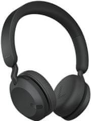 Jabra bežične slušalice Elite 45h, crne