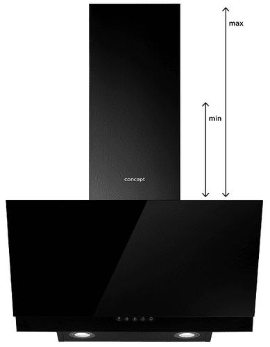 Okap kuchenny Concept OPK5060bc regulowana wysokość