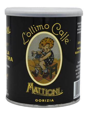 Mattioni kava, mleta, rjava, 250 g, v pločevinki