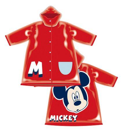 Disney Kabanica za djecu Mickey Mouse, 104, crvena