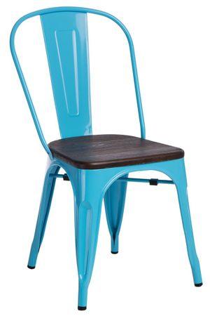 shumee Paris Wood szék kék ecset fenyő