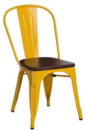 shumee Paris Wood szék sárga fenyő dió