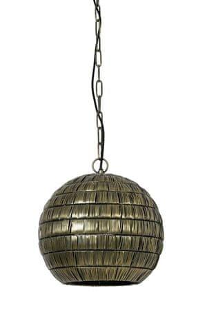 shumee Starinska bronasta viseča svetilka Kymora