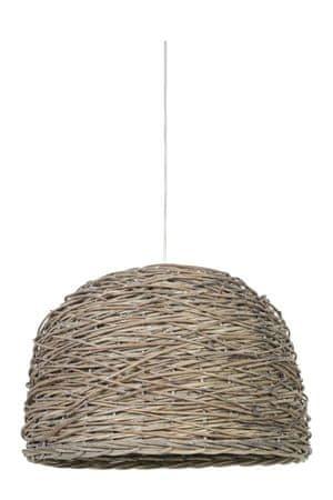 shumee Rotan függesztett lámpa természetes 38