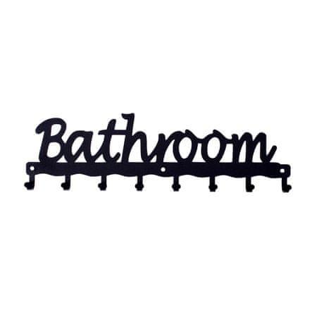 shumee Wieszak ścienny Bathroom czarny