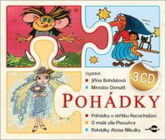 Jiřina Bohdalová: Pohádky - obsahuje 3 CD