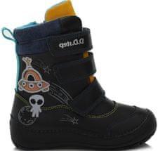 D-D-step chlapčenská zimná členková obuv 023-513A