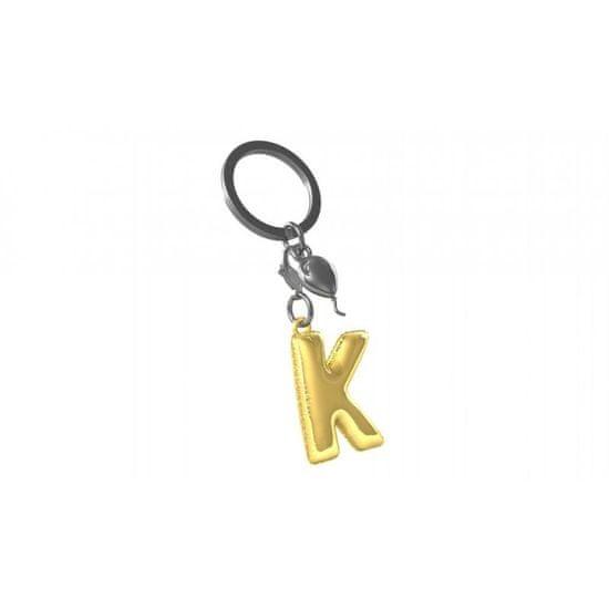 MTM Gifts Meta[l]morphose® klíčenka zlatý balonek písmeno K