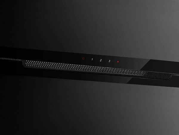 Komínový odsávač pár Concept OPK5860bc Jednoduché ovládanie