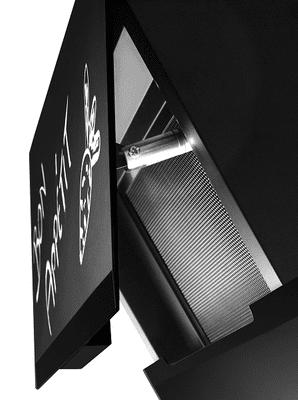 Komínový odsávač pár Concept OPK5860bc Čistenie tukového filtra