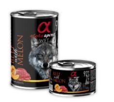 Alpha Spirit Beef & Mellon hrana za pse, govedina, dinja, 400 g