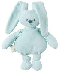 Nattou Hračka pletená bavlnená zajačik Lapidou cuddly mint 36 cm