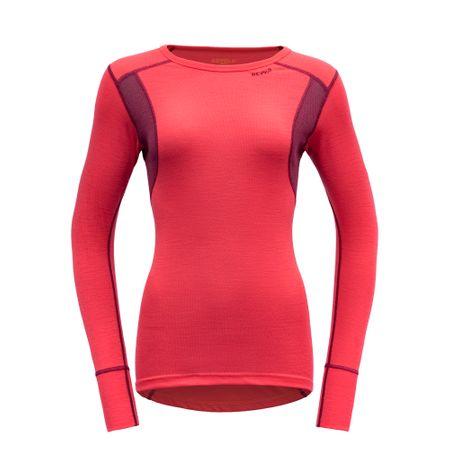 Devold koszulka damska Hiking LS, czerwona XS