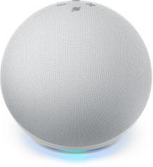 Amazon All-new Echo Dot (4th generation), Smart Speaker with Alexa - Glacier White