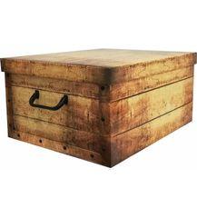 Compactor Skladacia úložná krabica Country - kartón box 50 x 40 x 25 cm