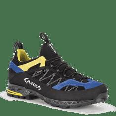 Aku Tengu Low GTX černo, modro, žluté - 8,5 (42,5)