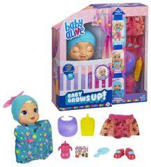 HASBRO Baby Alive Rastie pred očami - blondínka - rozbalené