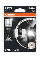 Osram LED 12V W2,1x9,5d OSRAM blistr 2ks 6000K