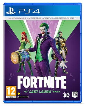 Warner Bros Fortnite - The Last Laugh Bundle (PS4)