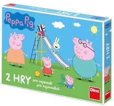 DINO Peppa Pig Poď sa hrať a dážďovky