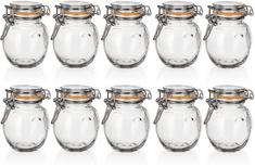 Banquet Dóza sklenená hermetická LINA 120 ml 10ks