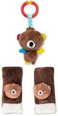 Diono Chránič pásu Soft Wraps & Toy Bear