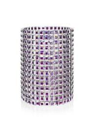 Bohemia Crystal Ručně broušená luxusní váza Queen Arabela 33cm