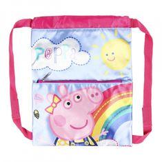 Cerda Zaťahovacie vrecúško / batoh na chrbát PEPPA PIG, 2100003118