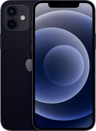 Apple iPhone 12 pametni telefon, 64GB, Black