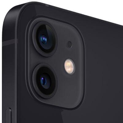 Apple iPhone 12, duálny širokouhlý ultraširokouhlý fotoaparát vylepšený nočný režim optická stabilizácia obrazu Smart HDR